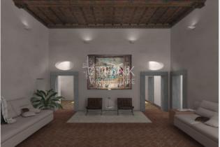 Appartamento signorile in palazzo rinascimentale Oltrarno Firenze