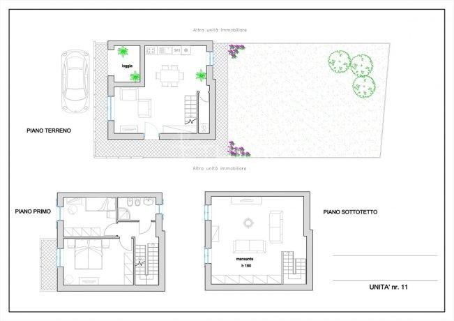 San Donnino _ Unità 11 - planimetria-1