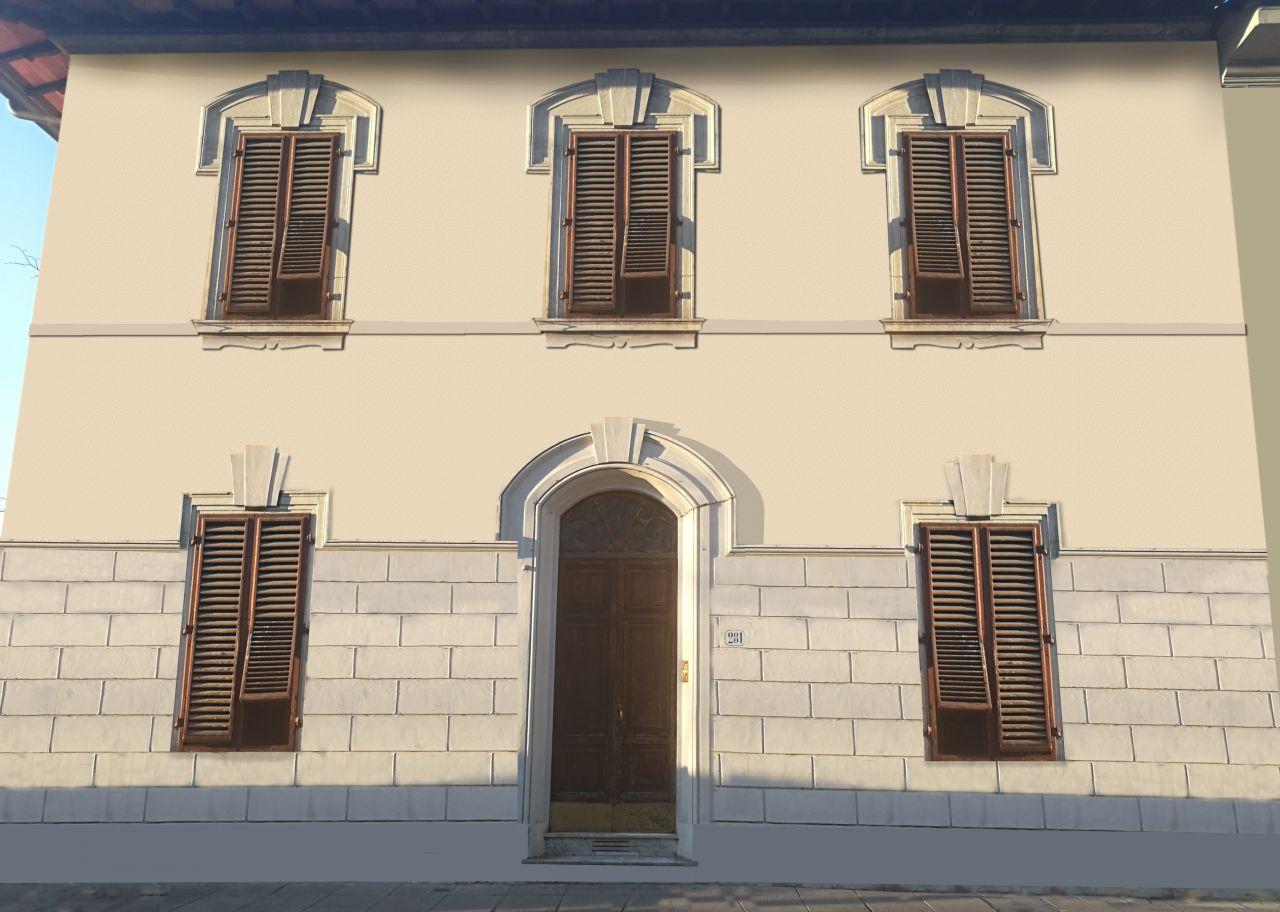 Appartamento con due camere in villino fine Ottocento