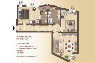 Planimetria App A Via Massaia