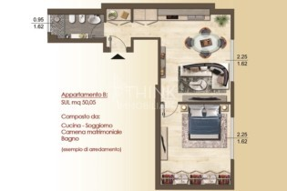 Planimetria App B Viale Redi 45 seconda versione