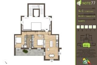 appartamento 4C