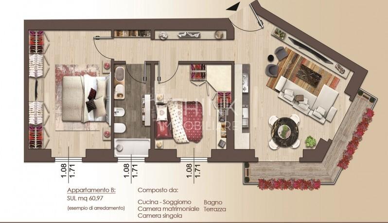 Planimetria App B Via B.Marcello